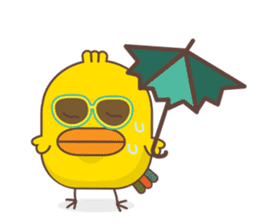 Ka-terk ka-tark V3 Summer sticker #15729309
