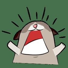 Grumpy Cute Cat sticker #15734564