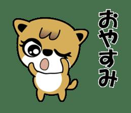 My Dog , Pochi sticker #15739608