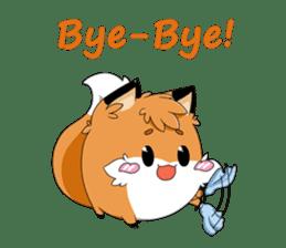kawaiiNihongo - Fox Stickers sticker #15745923