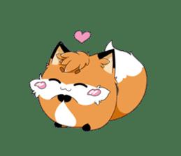 kawaiiNihongo - Fox Stickers sticker #15745948
