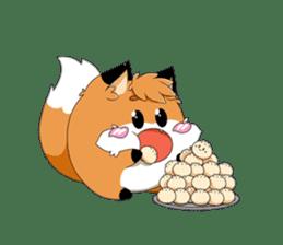 kawaiiNihongo - Fox Stickers sticker #15745951