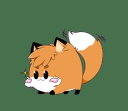 kawaiiNihongo - Fox Stickers sticker #15745952