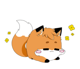 kawaiiNihongo - Fox Stickers sticker #15745958