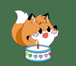 kawaiiNihongo - Fox Stickers sticker #15745961