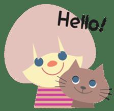Cats & Kids sticker #15747330