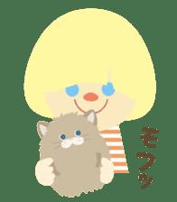 Cats & Kids sticker #15747336