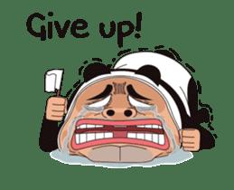 Mr. Baba the Panda sticker #15749907