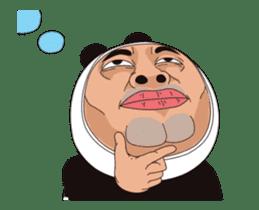 Mr. Baba the Panda sticker #15749908