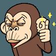 イラッと動く★お猿さん3