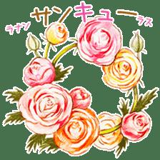 words flower shop sticker #15763578
