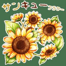 words flower shop sticker #15763579