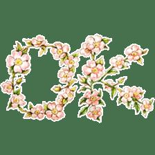 words flower shop sticker #15763580