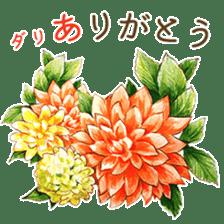 words flower shop sticker #15763581