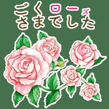 words flower shop sticker #15763590