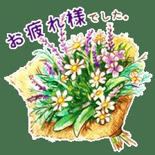 words flower shop sticker #15763591
