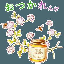 words flower shop sticker #15763592