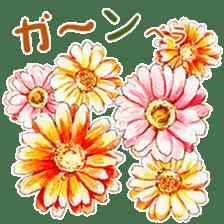 words flower shop sticker #15763598