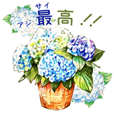words flower shop sticker #15763600