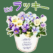 words flower shop sticker #15763605