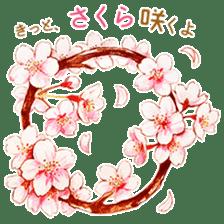 words flower shop sticker #15763608