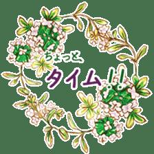 words flower shop sticker #15763613