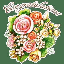 words flower shop sticker #15763615