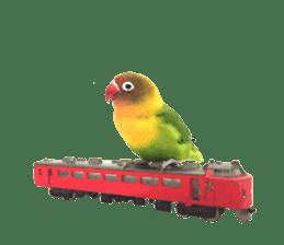 LOVEBIRDS STICKERS sticker #15764608