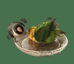 LOVEBIRDS STICKERS sticker #15764633