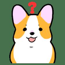 Question Corgi sticker #15771274