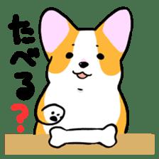Question Corgi sticker #15771280