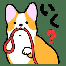 Question Corgi sticker #15771285