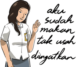 Dilan Milea Sticker Chat sticker #15781444