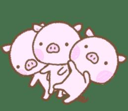 Baby pig. sticker #15791740
