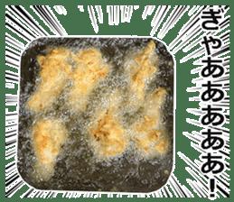 Fried chicken is best. sticker #15791961