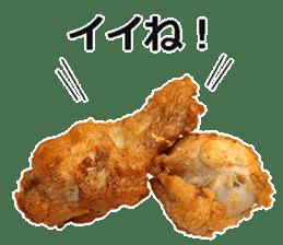 Fried chicken is best. sticker #15791964