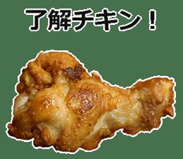 Fried chicken is best. sticker #15791968
