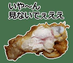 Fried chicken is best. sticker #15791976
