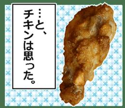 Fried chicken is best. sticker #15791981