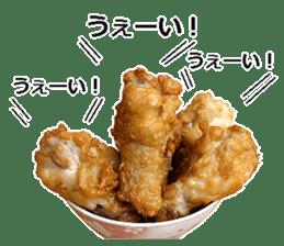 Fried chicken is best. sticker #15791982