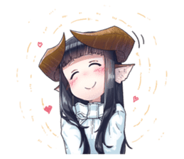 Horned girl's collection Vol.3 sticker #15804549