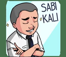 Si Kadir sticker #15806408