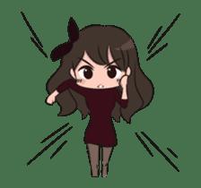 Chibi Little Girl sticker #15815251