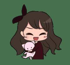 Chibi Little Girl sticker #15815255