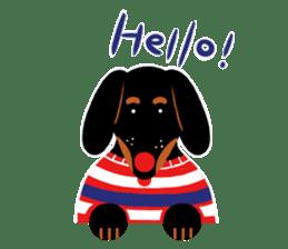 Red Nose Dog sticker #15823826