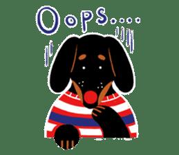 Red Nose Dog sticker #15823827