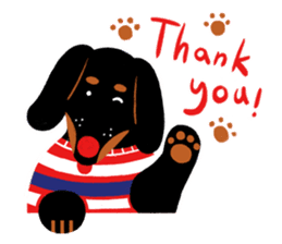 Red Nose Dog sticker #15823829