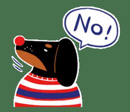 Red Nose Dog sticker #15823831