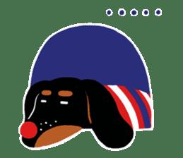 Red Nose Dog sticker #15823836
