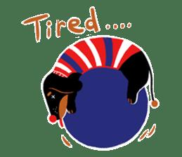 Red Nose Dog sticker #15823837